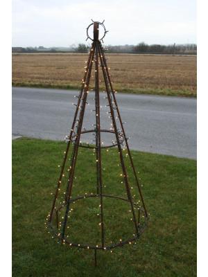 200 cm Juletræ i jern