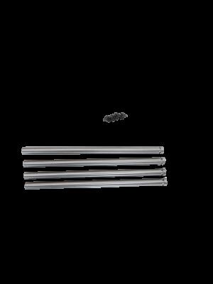 4 x slaglebolte for hammermølle TS40M