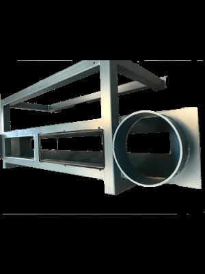 Stativ for dobbelt hammermølle TS40