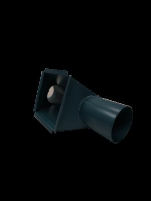 Indløb for flexsnegl 90mm