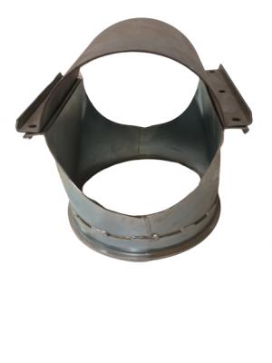 Ind/udløb til montering på rør - SS152