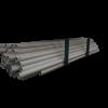 Plastrør for 75mm flexsnegl (DACS) pr. meter