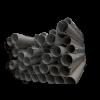 Plastrør for 90mm flexsnegl (DACS) pr. meter
