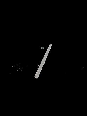 Slaglebolte for hammermølle TS32 med malebro